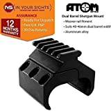 Atome Double Cylindre Fusil Support With 5 Fente Fixation par Rail