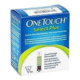Tiras para medir el nivel de glucosa en sangre, OneTouch Select, paquete de 50...