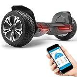 Bluewheel 8.5' Hoverboard patín eléctrico HX510 con UL2272 estándar de Seguridad, Cambia de Color...