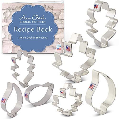 Ann Clark Cookie Cutters Fall Leaves Cookie Cutter Set