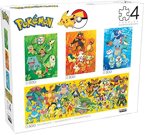 Buffalo Games - 4 in 1 Multipack - Pokemon