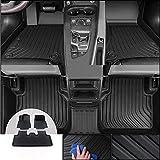 Coche Alfombrillas y moquetas para Jeep Grand Cherokee 2011-2020, Alfombrillas de moqueta con borde antideslizante talonera Coche Accesorios