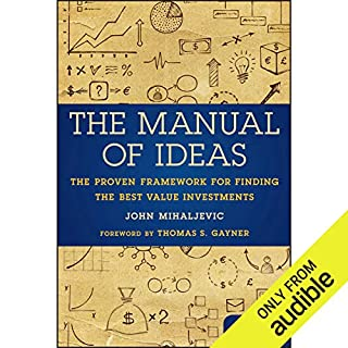 The Manual of Ideas audiobook cover art