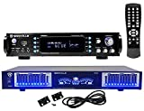 Rockville RPA60BT Home Theater Bluetooth Receiver + 10 Band Graphic Equalizer