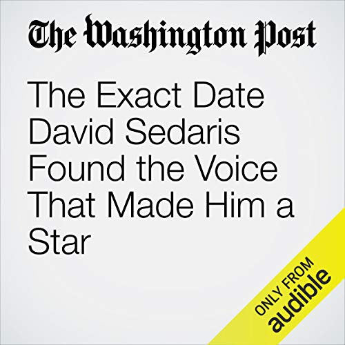 The Exact Date David Sedaris Found the Voice That Made Him a Star copertina