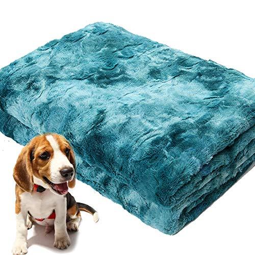 PET SPPTIES Manta de Prro, para Perros Gatos Conejos y Otras Mascotas Manta para Gato PS075 (130 * 160cm, Blue)