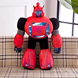 hhjxptst Juguete De Felpa, Transformers, Dynasky, Hornet, Throw Plush, Large Size, Pillow, Ultra-Soft, 2.5m Rojo