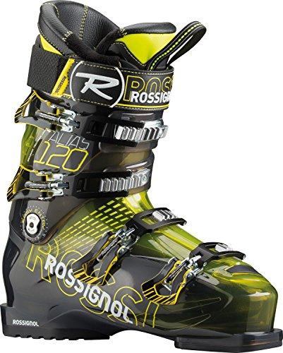 Rossignol Men's Alias Sensor 120 Yellow Transparent All Mountain Ski Boot