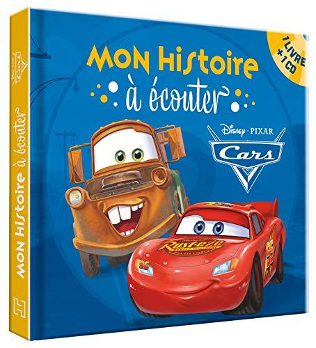 CARS - Mon histoire à écouter - L'histoire du film - Livre CD - Disney Pixar