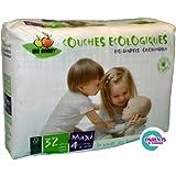 Pañal Ecológico Desechable BioBabby Maxi 7-16 Kg 32 unds
