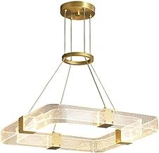 Nordic Chandelier Personality Modern Simple Light Luxury All Copper Living Room Bedroom Chandelier (Color : Chandelier)