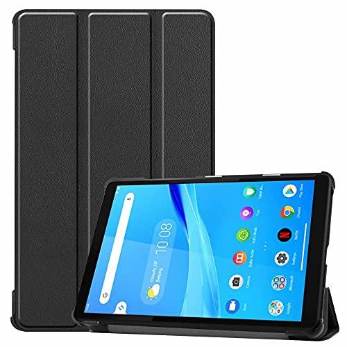 Funda de piel para Lenovo Tab M8 TB-8505X de 8 pulgadas para tablet TB-8505F / M / I, color negro
