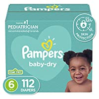 Pampers Baby Dry Diapers Size 5, 112 Count by Pampers