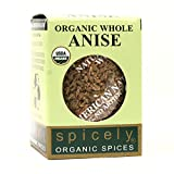 Spicely Organic Anise Seeds 0.3 Oz Certified Gluten Free...
