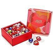 リンツ (Lindt) チョコレート バレンタイン リンドールクラシックギフトボックス 28個入り ショッピングバッグS付