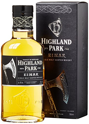 Highland Park EINAR Warriors Edition Whisky mit Geschenkverpackung (1 x 0.35 l)