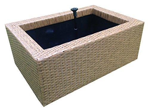 Heissner 015195–14Rattan Water Garden–Braun