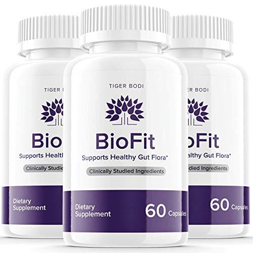 (3 Pack) Biofit Probiotic Weight Management Capsules Pills Supplement Bio Fit Pills Tea Tablets for Women Men (180 Capsules)