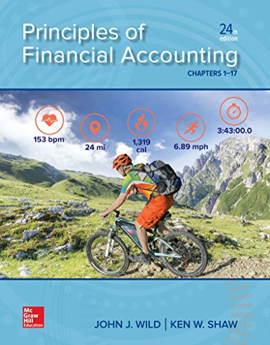 Loose Leaf for Principles of Financial Accounting (Chapters 1-17)