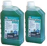 2 x 1 Liter Bio Kettenöl KETTLITZ-Medialub 2000'Blauer Engel' nach neuester RAL-UZ 178 - KWF Geprüft - Sägekettenöl