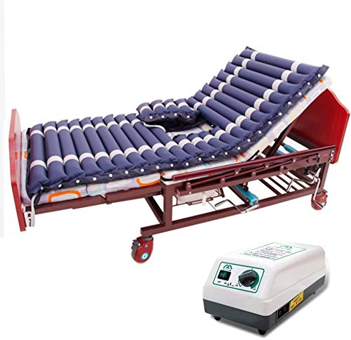 HYISHION Alternating Pressure Pad - Includes Mattress Pad and Electric Pump System - Quiet, Inflatable Bed Air Topper for Pressure Ulcer Sore Treatment - Fits Standard Hospital Bed