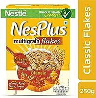 Nestlé NesPlus Breakfast Cereal, Multigrain Flakes – Classic, 250gm Carton ( ネスレネスプラスブレックファーストシリアル、マルチグレインフレーク–クラシック、250gmカートン ) (View amazon detail page)
