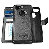 Pixel 3a XL Wallet Case [2 in 1] AMOVO Detachable Folio Case for...
