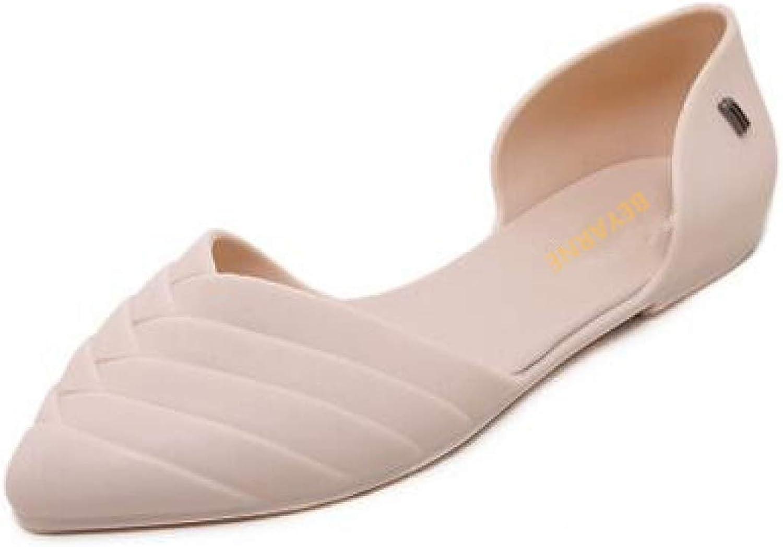MEIZOKEN Woman Bowtie Jelly Flip Flops Lady Students Casual Flats Sandals Summer Beach Slides Slippers