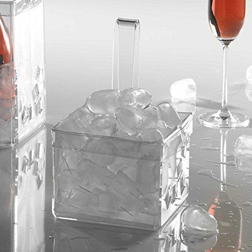 VeSta® Portaghiaccio in plexiglass in plexiglass Like Water Trasparente