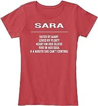 Sara Hated by Many Loved by Plenty. Women's Premium Tee - Women's Premium Tee