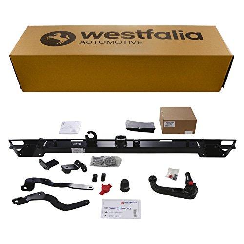 Westfalia Abnehmbare Anhängerkupplung - AHK für Fiat Ducato, Peugeot Boxer, Citroën Jumper (alle Kasten/Kombi, BJ 06/2006 - 02/2011) - Im Set mit 13-poligem fahrzeugspezifischem Elektrosatz