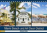 Miami Beach und Art Deco District (Tischkalender 2022 DIN A5 quer): Der Hotspot in Florida (Monatskalender, 14 Seiten )