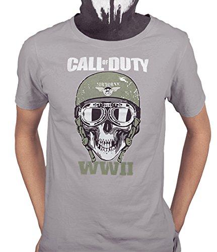 Acokaia Camiseta Call of Duty WWII para Hombre