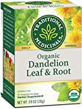 Traditional Medicinals Dandelion Leaf & Root Herbal Teas 16 Ea Pack of 3