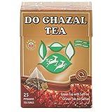 Do Ghazal Tee Schwarz Tee mit Safran Aroma 25 Beutel a 2 Gramm