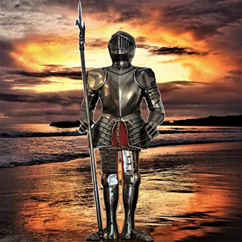 Fantasy of the Knight with Celtic Sword and Scabbard