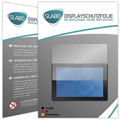 Slabo 2 x Bildschirmschutzfolie für Dell Venue 10 Pro Bildschirmschutz Schutzfolie Folie No Reflexion | Keine Reflektion MATT