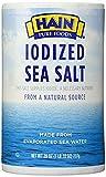Hain Pure Foods Sea Salt Iodized -- 26 oz ( 2 Pack )