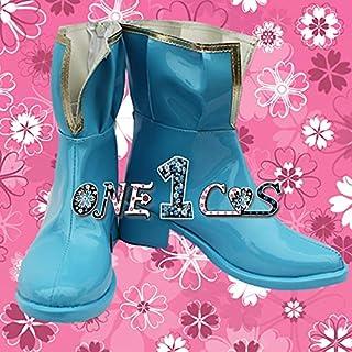 【サイズ選択可】コスプレ靴 ブーツ 12L1668 魔法少女まどか☆マギカ 美樹さやか 男性28CM