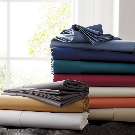 Wrinkle-Free 300-Thread Count Cotton Sateen Sheets & Bedding | The Company Store