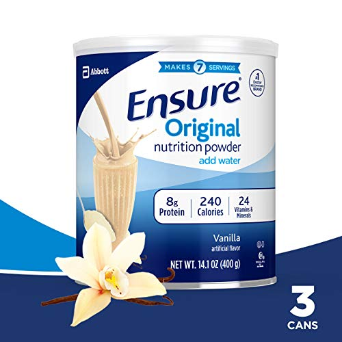 Ensure Original Nutrition Shake Powder with 9 grams of protein, Meal...
