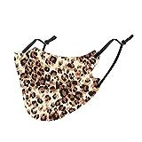 1 / 5PC Unisex Bufanda de algodón Animal de Invierno para Adultos - Moda Universal Cute Print Bufanda elástica Suave para Mujeres Hombres -21215-19