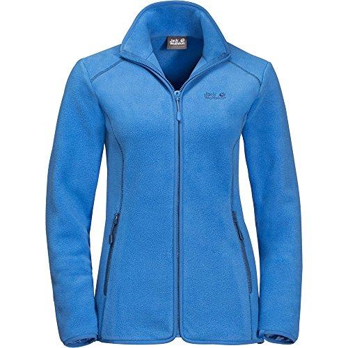 Jack Wolfskin W Moonshine Altis Blau, Damen Fleecejacke, Größe XS - Farbe Zircon Blue