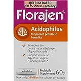 Florajen Florajen Acidophilus Probiotic Capsules, 60 caps (Pack of 3)