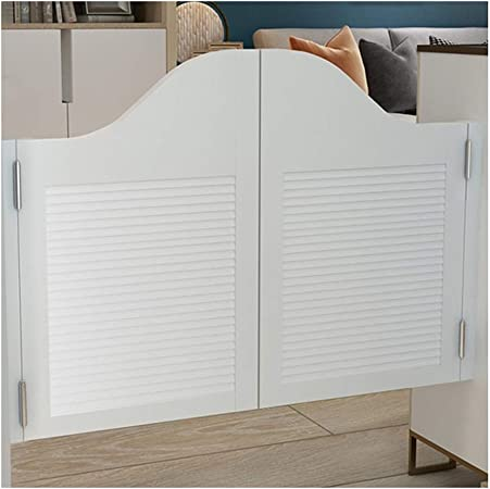 Swinging Doors Cafe Doors Solid Wood Spray Paint Tasteless No Cracking Saloon Door For Cafe Bar Indoor Entrance With Hinge Customizable Color White Size 70cmx100cm Amazon Co Uk Kitchen Home