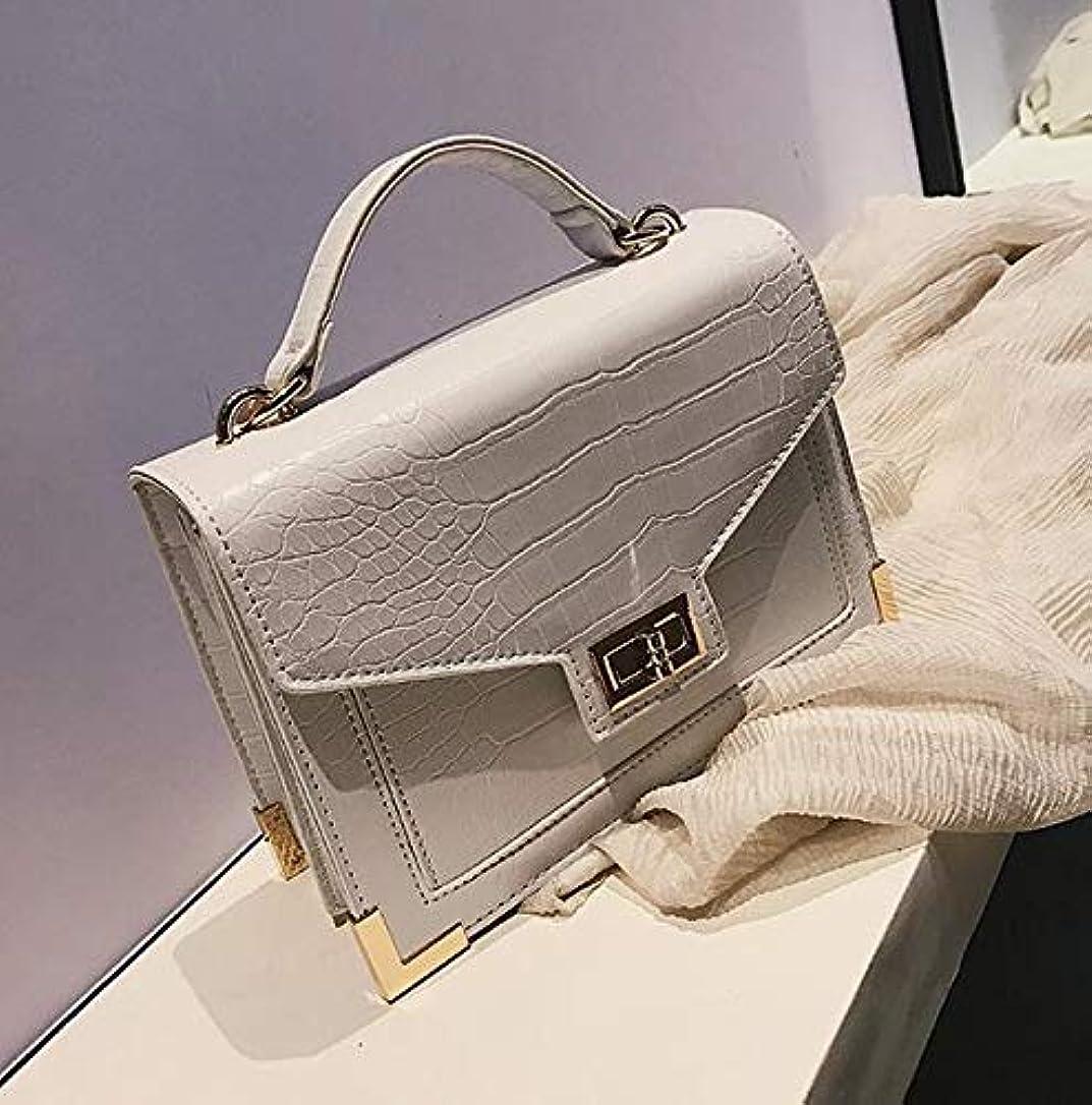 メッセージ自発樹皮レトロファッション女性の正方形のバッグ 2018 新品質 Pu レザー女性のバッグワニのパターントートバッグロックショルダーバッグメッセンジャーバッグ財布 レディース 二つ折り