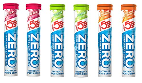 High 5 ZERO Electrolyte Sports Drink 6 x 20 Tab Mixed Case