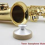 lesoxid (TM) Sassofono Mute Silenziatore in metallo Dampener leggero Professionale per sax...