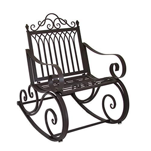 L'ORIGINALE DECO Fauteuil Banc Rocking Chair de Jardin ou d'Extérieur 64.50 cm