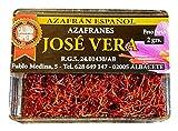 Azafrán Español en Hebras, Cat. I Suprema (Cajita 2g), 100% artesano, gran aroma y color, cosecha...